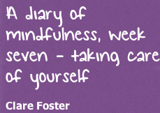 diary of mindfulness