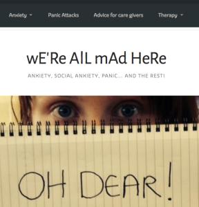 social anxiety blog